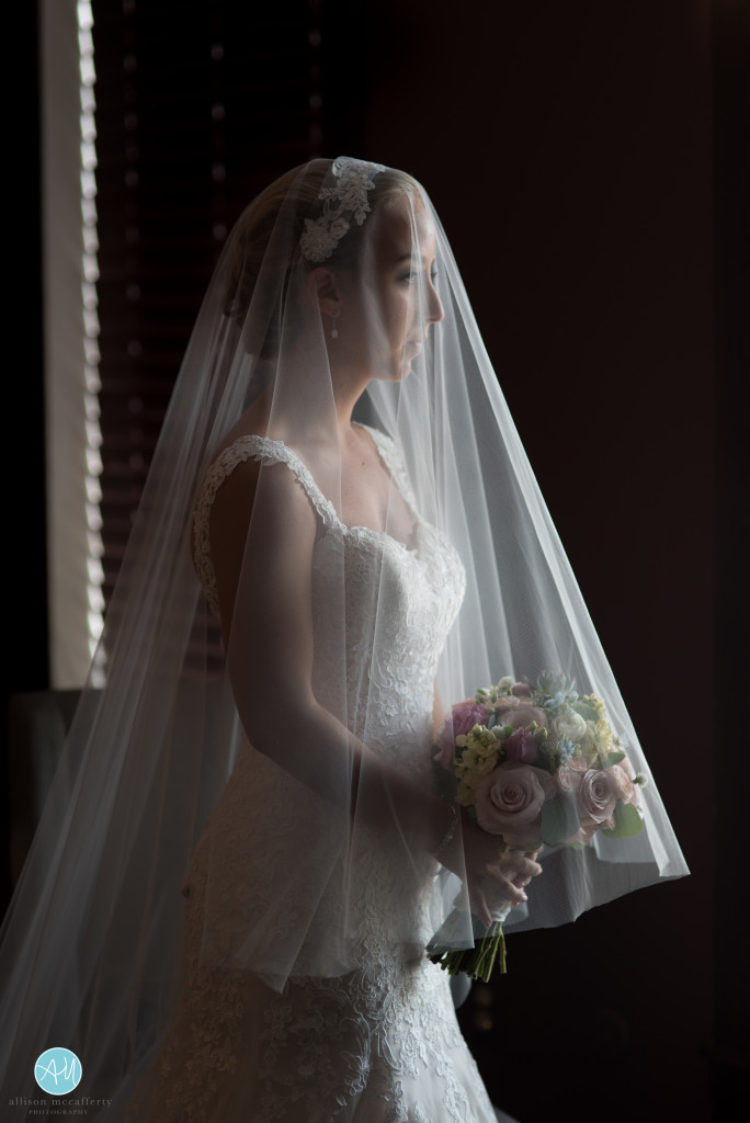 We found some beautiful window light for some of Morgan's bridal portraits.